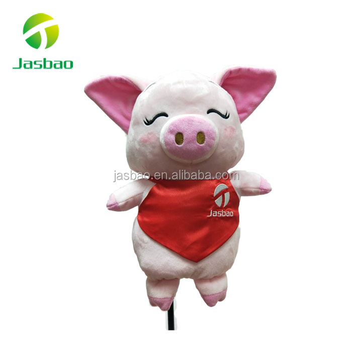 Piggy  Golf Headcovers, Plush Golf Headcovers, Doll Golf Headcovers