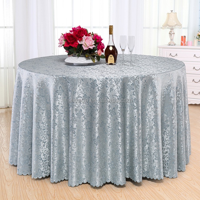 Luxury Sparkly Tablecloth Sequin Table Cloth Round Silver Sequin TableCloth  Wedding Beautiful
