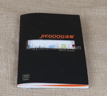custom square color mini printing menu booklet buy color printing