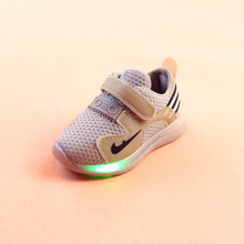 도매 캐주얼 Simple Soft 솔 패션 Led Sneakers Baby Kids Shoes