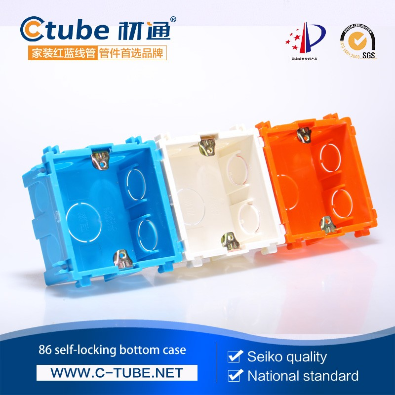 Fire Resistant Pvc Electrical Plastic Switch Box Manufacturer - Buy ...
