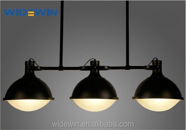 Zwarte Kleur Ijzer Drie Armen Licht Luxe Lampen Voor Woon-en ...