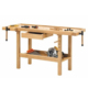 multifunction rubber wood woodworking workbench with vise