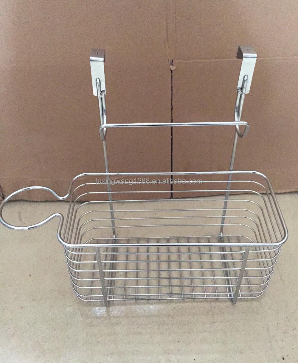 Over The Cabinet Basket Plastic Bag Holder Over The Cabinet Door Basket Bin Recycle Reuse