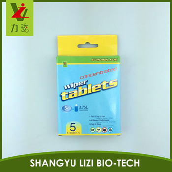 Windshield Wash Cleaner Tablet - OEM private label - european manufacturer