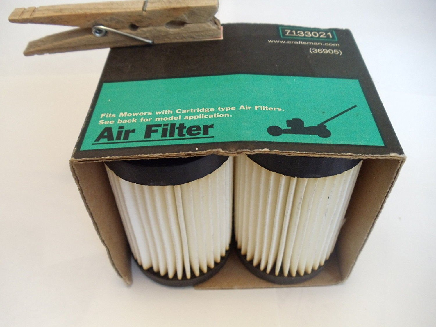 (Ship from USA) (2) Craftsman #33021 Lawn Mower Air Filter for Eager 1 Engines Replaces #36905 /ITEM NO#8Y-IFW81854267128