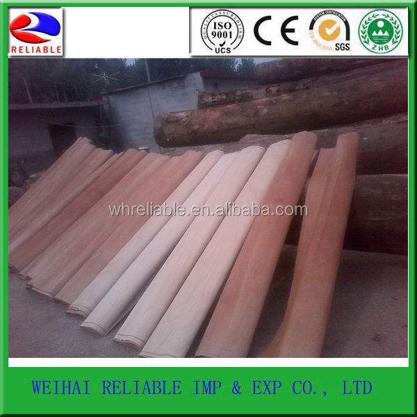 China supplier Promotional natural exotic wood veneer