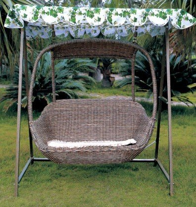 2015 Top Selling Round Iron Outdoor Bed Outdoor Swing Buy Round