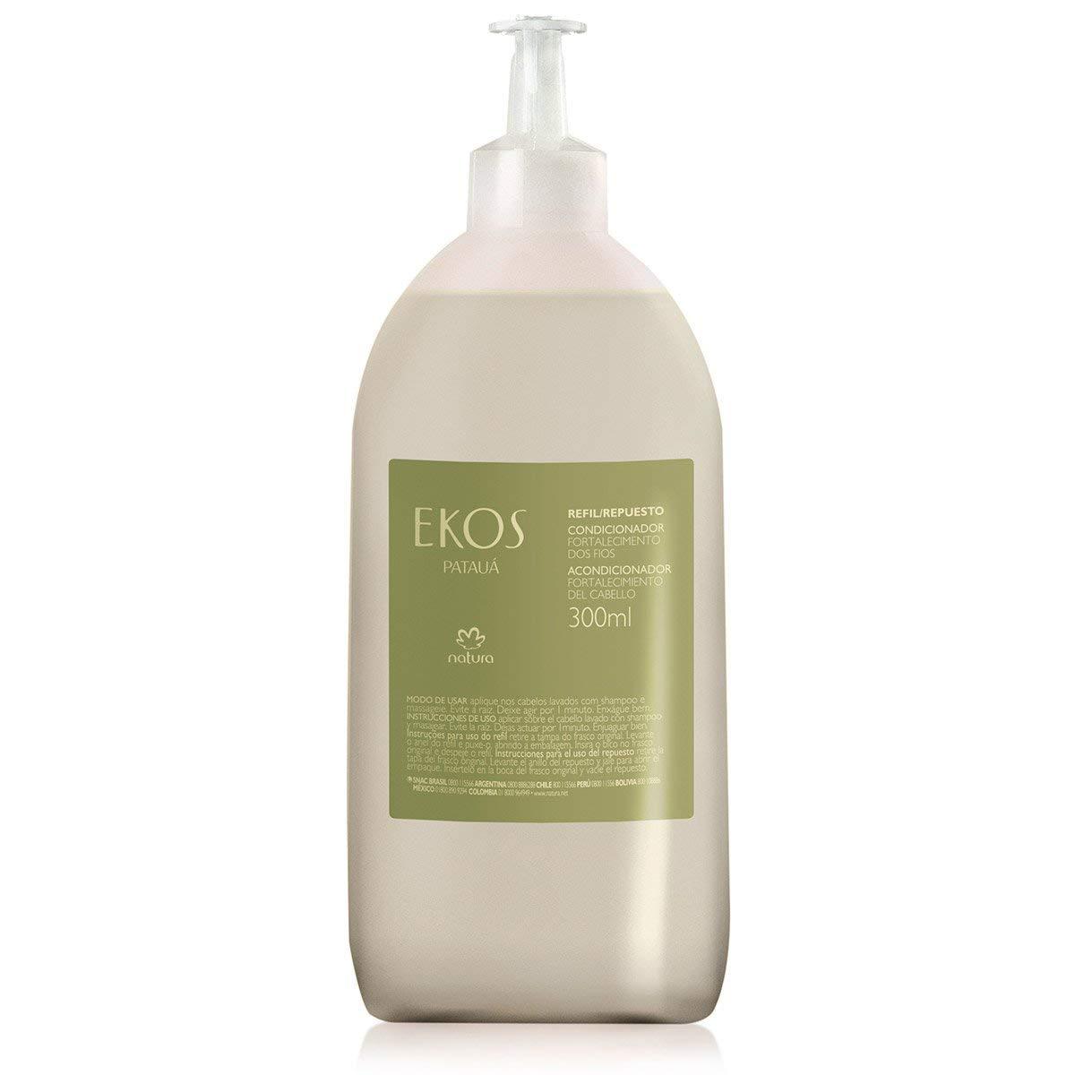 Linha Ekos (Pataua) Natura - Condicionador Fortalecimento dos Fios (Refil) 300 Ml - (Natura Ekos (Pataua) Collection - Hair Strengthening Conditioner (Refill) 10.14 Fl Oz)