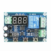XH-M608 battery charging and discharging module integrated voltage meter under overvoltage protection timing charge