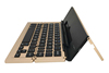 2016 Aluminum Alloy Case portable bluetooth pocket keyboard foldable keyboard For iPad Air2