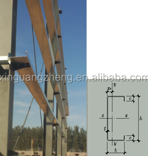 I-beam Pre-engineered Frame Structural Warehouse