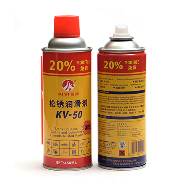 rust parts loosen agent anti-rust spray