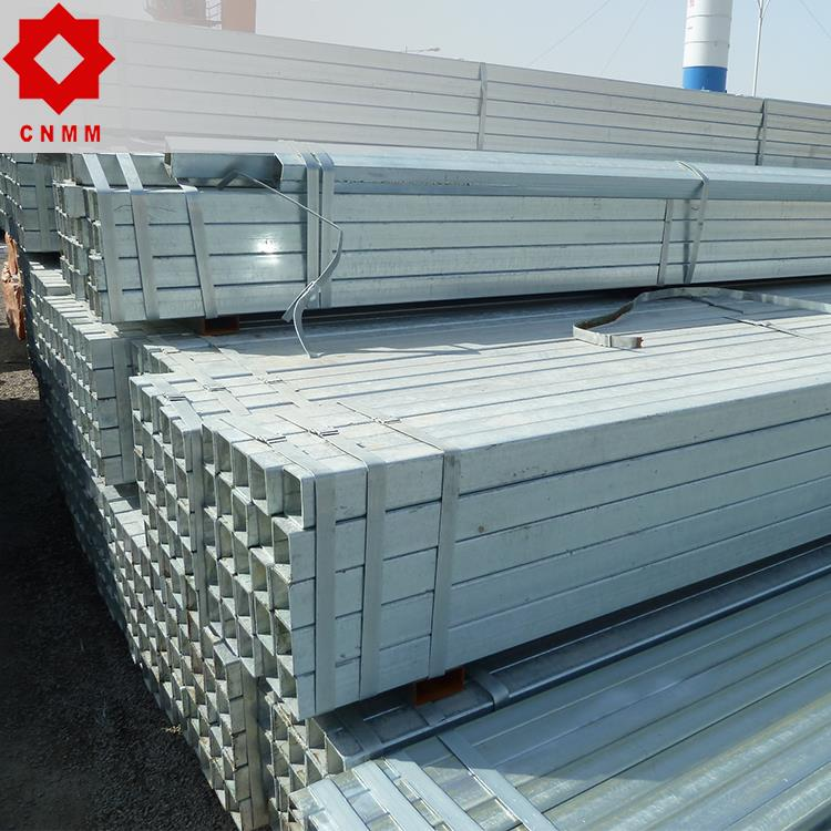 trade assurance galvanized square tube decorative metal pipes