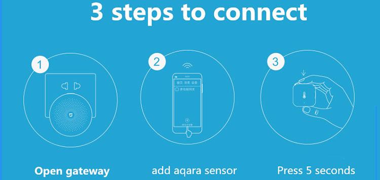Aqara Wireless Zigbee Battery Powered By Temperature Humidity Sensor With  Mi Home App Controller - Buy Temperature Humidity Sensor,Zigbee Temperature