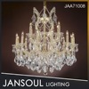19 Lights Giant Chandelier with High Quality Crystal