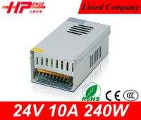 Hot sale cctv switching power supply industrial products constant voltage single output 240w led driver 24v dimmable
