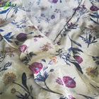 100% Viscose Flowers Printed fashion fabric