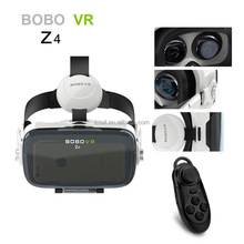 High quality BOBO VR Z4 Virtual Reality VR glasses with headphone vr Headset 3D Glasses + Bluetooth Controller