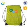 Eco-friendly kids gym sack drawstring sport closure backpack logo swim shoe pouch bag