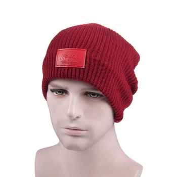 Fashion acrylic unisex beanie hat cap skull wholesale