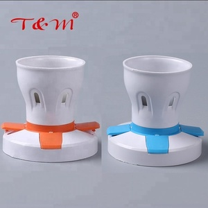 Promotion ABS decorative e27 & B22 electrical lamp holder base