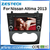 ZESTECH China Factory OEM 2 Din Touch screen Car Dvd player for Nissan Altima Car Dvd player gps radio 2013-2014