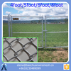 2017 hot dipped galvanized cyclone mesh / chain link/ hurricane fence