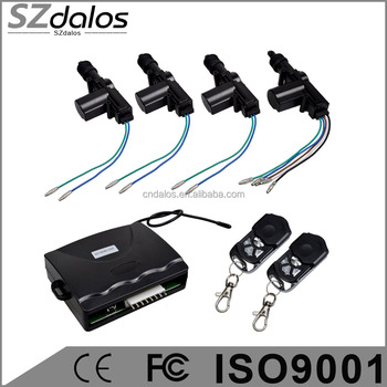 Remote Central Locking System Electric Actuator Remote Control Car ...