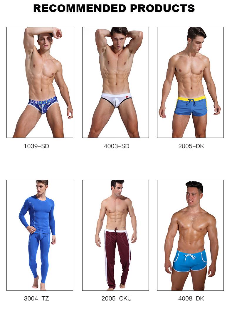 PU en cuir sexy nouvelle mode Offre Spéciale design homme sous-vêtements jeune garçon