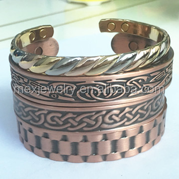 Wholesale Therapy Magnet Jewelry Heavyweight Pure Copper