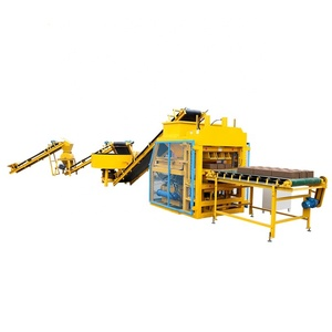 hby5-10 super automatic mud soil earth Interlock Brick/ Block Making Machine in China