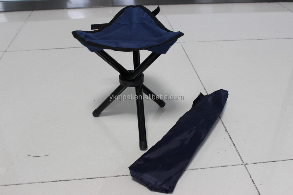 Camping Tripod Folding Stool Chair Fishing Foldable