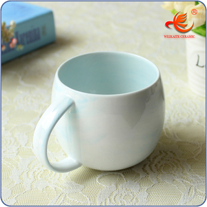 Top Quality elegant large oversized white porcelain coffee cups/ceramic mugs With Discount