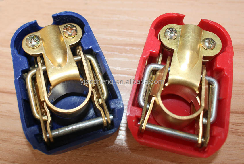 Quick Release Battery Terminal Clamp 6v 12v Pair Caravan Motorhome