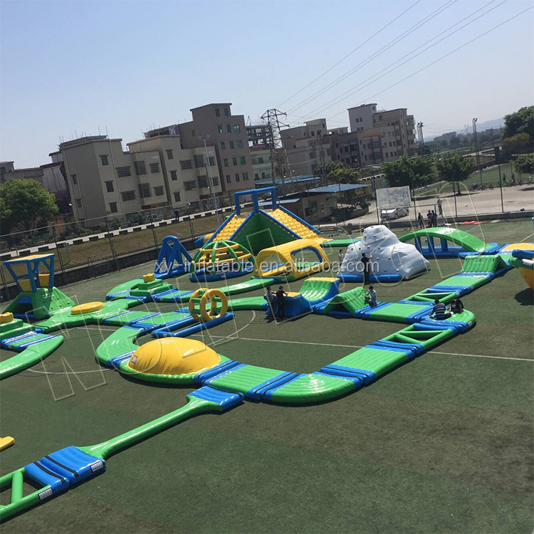 Popular entertainment water games Adults park inflatable floating inflatable water park