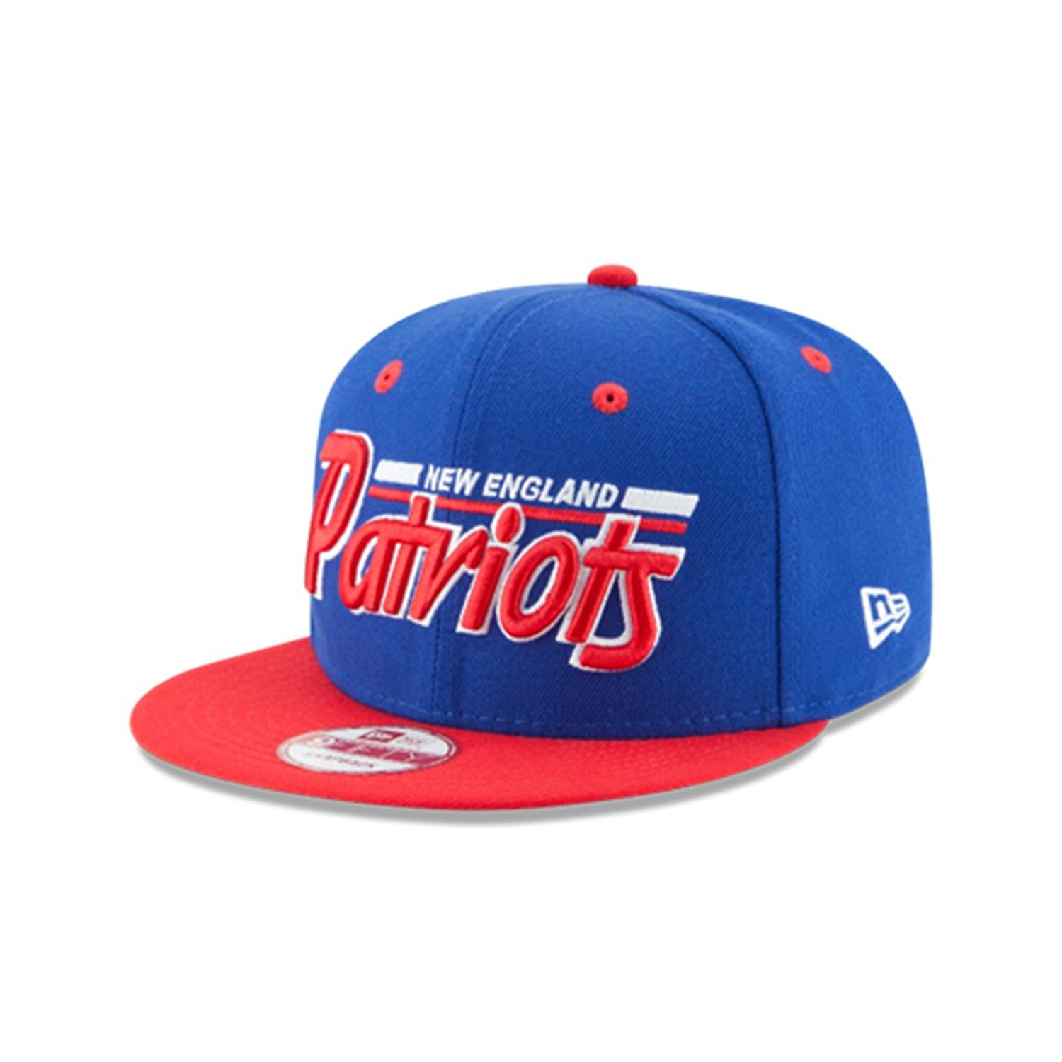 a68affefcde2d9 Get Quotations · New England Patriots New Era 9Fifty 2T Retro Snapback Hat