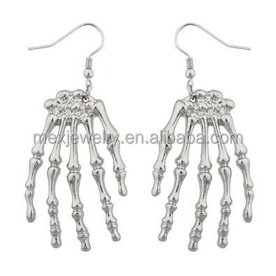 White Skeleton Hand Bracelet For Fancy Dress Party Accessory