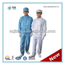 esd series goods 5mm strip, 5mm grid, 2.5mm grid anti static coverall