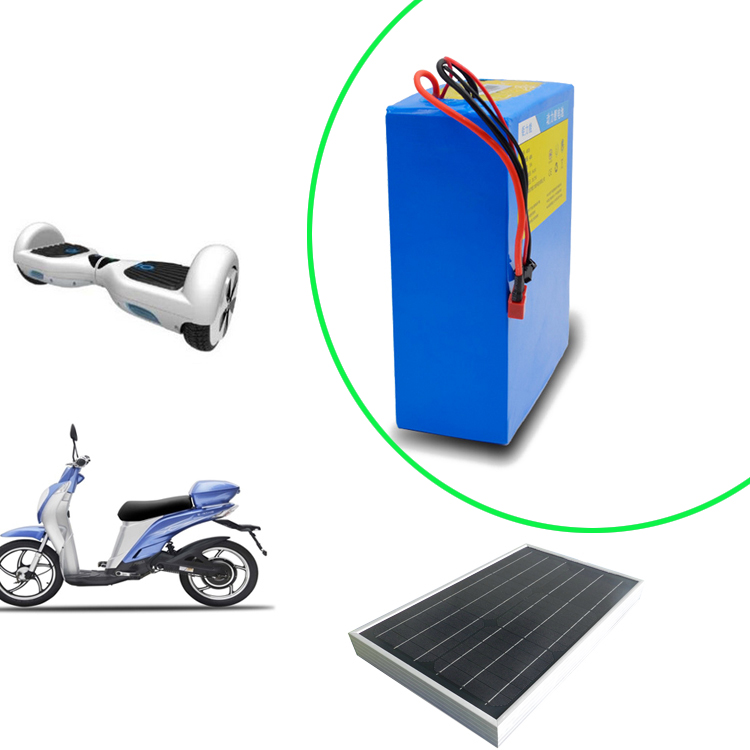 Rechargeable lifepo4 48v-20ah lithium battery pack for electric motorcycle,e-bike,electric scooter,solar energy