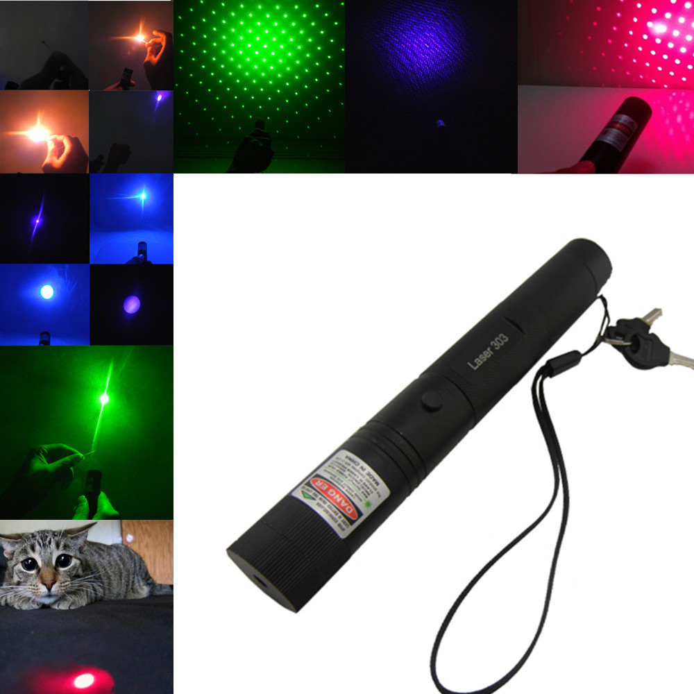 Hot Lazer 50000mW Adjustable Focus Burning Laser pen Pen SDLaser 303 Green Red Blue Violet with Safe Key for Sale