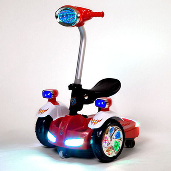 Bluetooth Remote Control Children Ride On Scooter Kids Electric Balance With Led Light