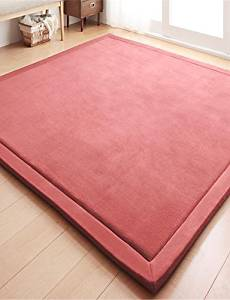 """LBLI New-Designed Casual Style Coral Velvet Material Non-Slip Thickened Mat W31"""" x L78"""" , blue DT-DZ #1118"""