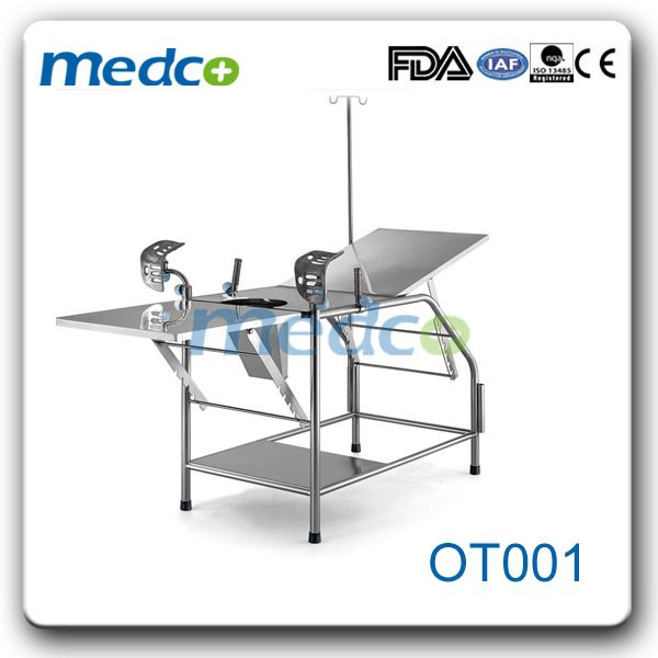 Gynaecological examination couch bed OT001