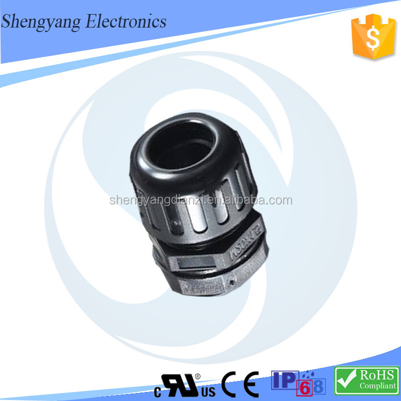 New Products MG / PG ROHS / IP68 Certification Automatic Control System Reduce Vibration Waterproof Conduit Connector