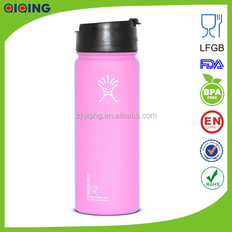 2015 Hot Sale High Quality 304 Double Wall Stainless Steel Vacuum Flask & Thermos, Food Grade BPA Free FDA Approved Vacu HD-A017