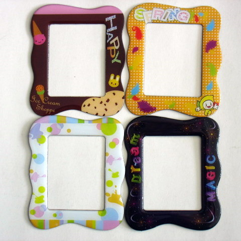 Diy Funny Photo Frames Fridge Magnet Wholesalemagnet Clear Photo