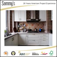 2017 White kitchen cabinet simple designs ideas