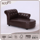 Crystal buckled high quality wood pet bed luxury dog sofa bed