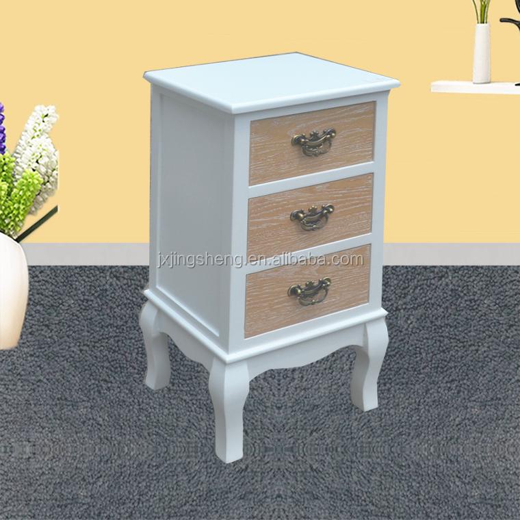 3 Schubladen Schmale Nachttisch Und Kommode Schlafzimmermöbel In  Großbritannien Frankreich Deutsch